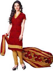 Khushali Fashion Crepe Printed Unstitched Dress Material -HNYVR1013