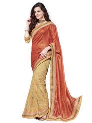 Branded Self Jacquard Printed Saree -HT70102