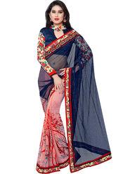 Indian Women Georgette Saree -IC40410