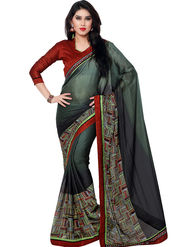 Indian Women Georgette Saree -IC40413