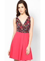Kaxiaa Cotton Jersey Plain Dresses -K-700