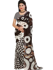Arisha Georgette Printed Saree -Khgsstar212
