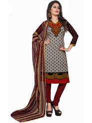 Khushali Fashion Crepe Printed Unstitched Dress Material -KPNDV33006