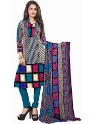 Khushali Fashion Crepe Printed Unstitched Dress Material -KPNDV33012