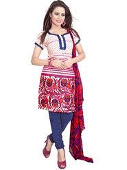 Khushali Fashion Crepe Printed Dress Material -Kpplk10004