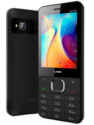 Lava KKT 28+ Dual Sim Mobile - Black&Grey
