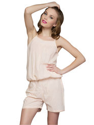 Clovia Blended Solid Cami & Shorts -NS0027S03