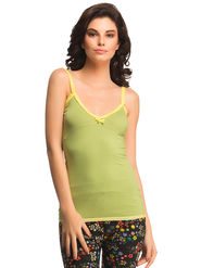 Clovia Cotton Solid Camisole -NS0604P11
