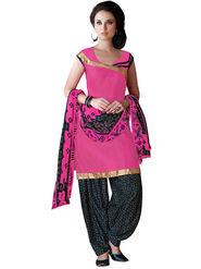 Khushali Fashion Crepe Self Dress Material -Rpsn99010