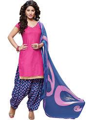 Khushali Fashion Cotton Self Unstitched Dress Material -RPSP1010007
