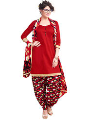 Khushali Fashion Cotton Self Unstitched Dress Material -RPSP1010013
