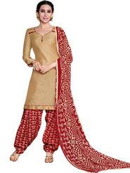 Khushali Fashion Glaze Cotton Printed Unstitched Dress Material -RPSP28011