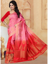 Viva N Diva Banarasi Silk and Jacquard Saree Rinnie-1376