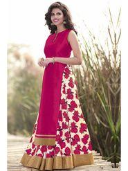 Style Amaze Printed Bhagalpuri Silk Pink Lehanga Choli -Sasunday-1083
