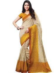 Shonaya Printed Handloom Cotton Silk Saree -Snhls-2003-A