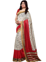 Shonaya Printed Handloom Cotton Silk Saree -Snkvs-3002-A