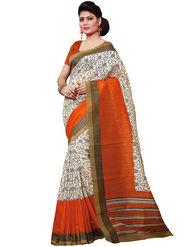 Shonaya Printed Handloom Cotton Silk Saree -Snkvs-3002-B