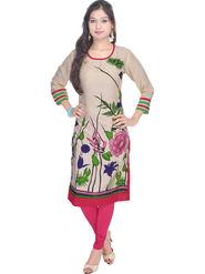 Shop Rajasthan Printed Rayon Straight Kurti -Sre2237
