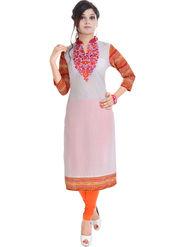Shop Rajasthan Embroidered Cotton Straight Kurti -Sre2373