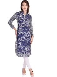 Shop Rajasthan Printed Cotton Straight Kurti -Sre2520