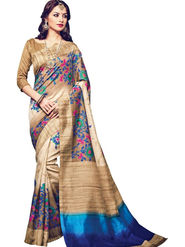 Regalia Ethnic Printed Bhagalpuri Multicolor Saree -Ssre07
