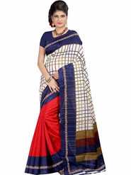 Regalia Ethnic Printed Bhagalpuri Multicolor Saree -Ssre21
