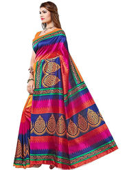 Regalia Ethnic Printed Bhagalpuri Multicolor Saree -Ssre27