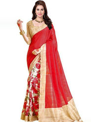 Regalia Ethnic Printed Bhagalpuri Multicolor Saree -Ssre28