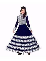 Thankar Semi Stitched  Georgette Embroidery Dress Material Tas268-1035