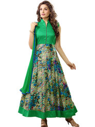 Thankar Printed Bhagalpuri Semi-Stitched Suit -Tas333-2048