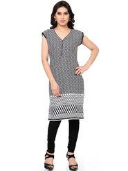 Thankar Printed Cotton Stitched Designer Kurti -Tdk136-At15