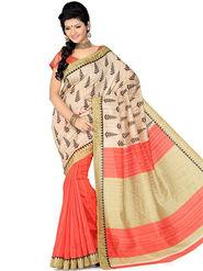 Thankar Embroidered Bhagalpuri Saree -Tds136-203