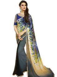 Thankar Printed Georgette Designer Saree -Tds145-6112