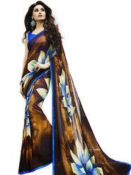 Thankar Printed Georgette Designer Saree -Tds145-6117