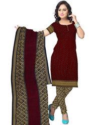 Triveni Crepe Printed Dress Material -Tslcsk5010