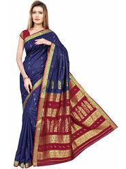 Triveni Art Silk Zari Worked Saree -Tsmrcc3006