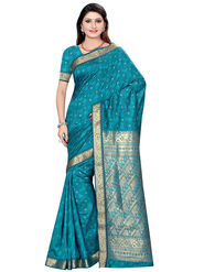 Triveni Art Silk Zari Worked Saree -Tsmrccsr2060