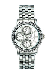 Titan Wrist Watch for Women - White_12309519