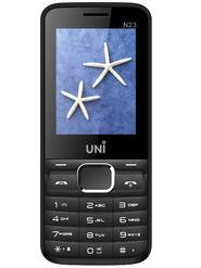 UNI N23 Dual Sim Mobile - Black