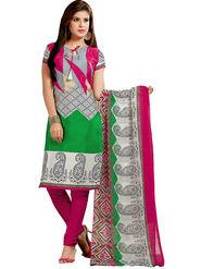 Khushali Fashion Silk Printed Unstitched Dress Material -VRIS21027