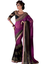 Viva N Diva Georgette Embroidered Saree Vanisha-2156