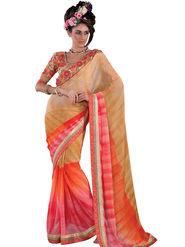 Viva N Diva Georgette Embroidered Saree Vanisha-2161