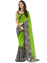 Nanda Silk Mills Fancy Printed Saree_Vr-1179