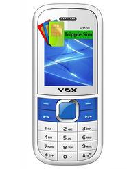 VOX V3100 Triple SIM Phone - White