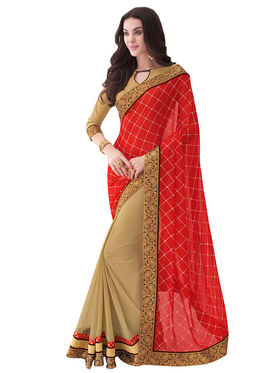 Bahubali Georgette Printed Saree -IC.40309