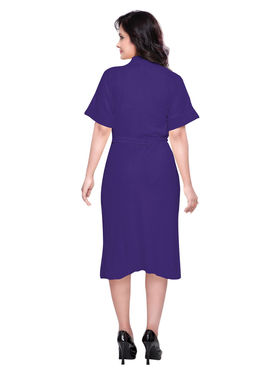 Violet Turkish Cotton Bathrobe_DB-BR-RTM-215