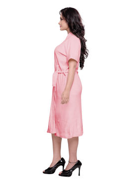 Baby Pink Turkish Cotton Bathrobe_DB-BR-RTM-208