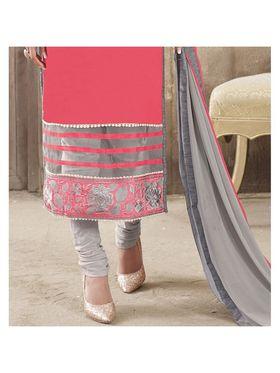 Viva N Diva Emroidered Unstiched  Dress Material_11294-Shruti