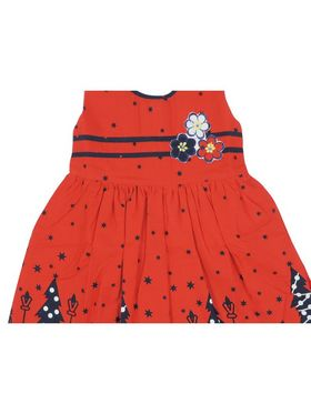 Ole Baby Beautiful Sleevless Jolly  Frock_OB-PFRCK-396