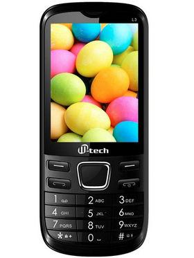 Mtech L3 16GB Dual Sim Phone - Black